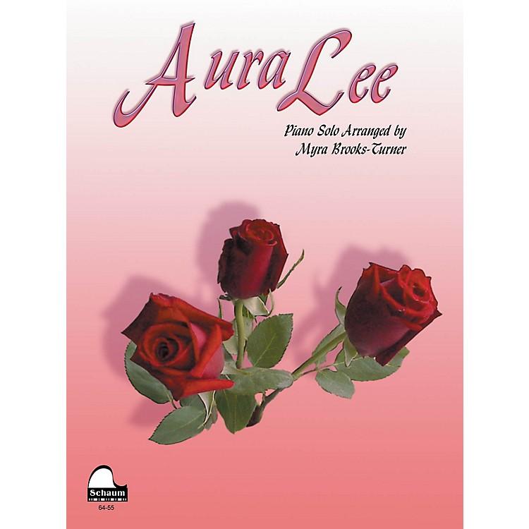 SCHAUMAura Lee Educational Piano Series Softcover