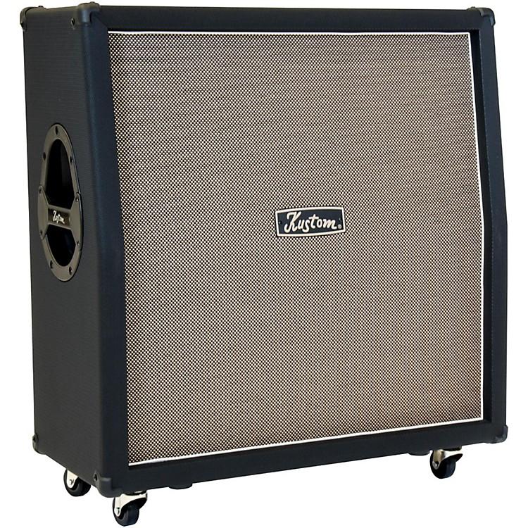 KustomAuris 4X12 Celestion Loaded Angled Guitar Speaker Cabinet
