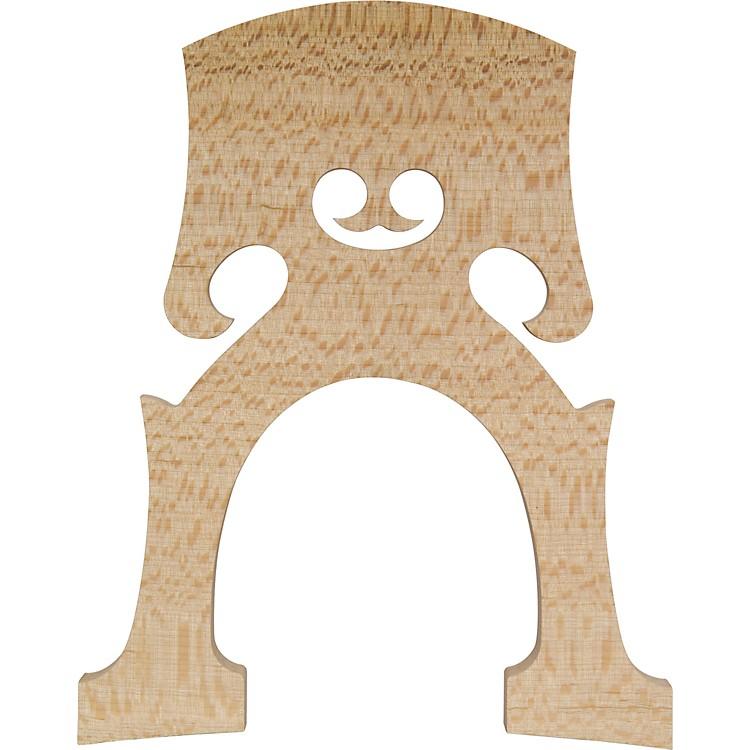 The String CentreAurolar Hard Maple Cello Bridges4/4 Somewhat Flecked-French