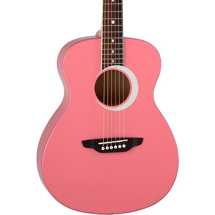 Luna GuitarsAurora Borealis 3/4 Size Acoustic GuitarWhite Sparkle