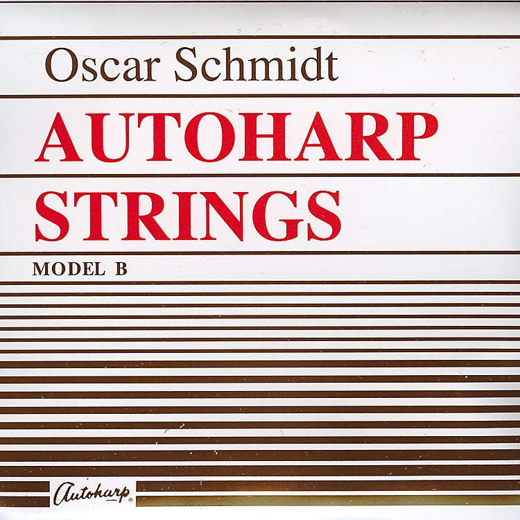 Oscar Schmidt Autoharp String Set Model B