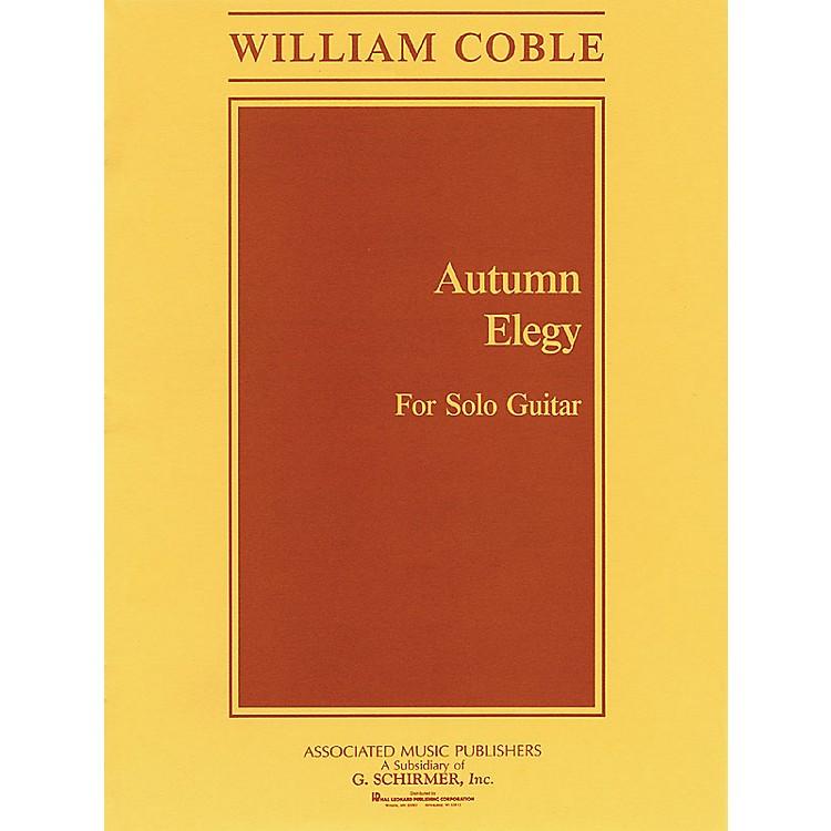 AssociatedAutumn Elegy (Guitar Solo) Guitar Solo Series Composed by William Coble