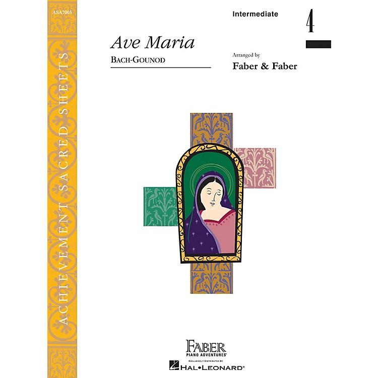 Faber Piano AdventuresAve Maria (Inter/Level 4 Piano Solo) Faber Piano Adventures Series by Johann Sebastian Bach