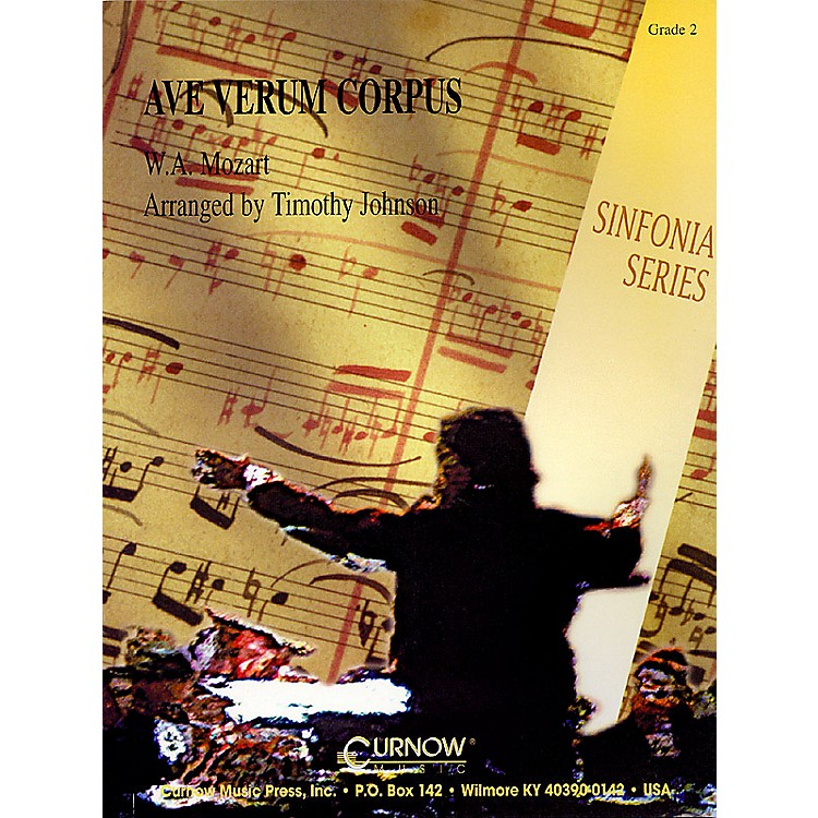 Curnow MusicAve, Verum Corpus (Grade 2 - Score and Parts) Concert Band Level 2 Arranged by Timothy Johnson