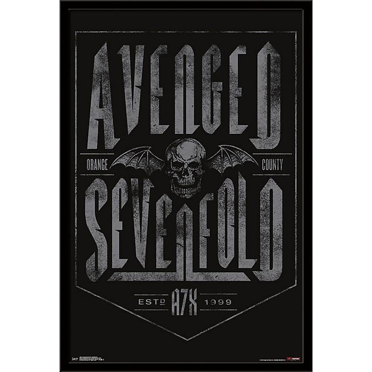 Trends InternationalAvenged Sevenfold - Established PosterFramedBlack
