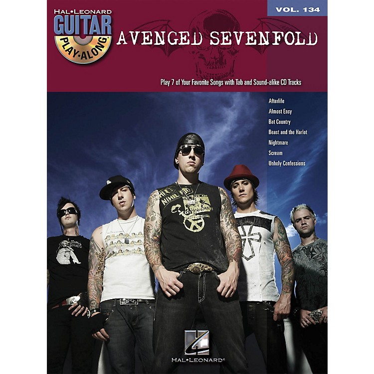 Hal LeonardAvenged Sevenfold - Guitar Play-Along Volume 134 (Book/CD)