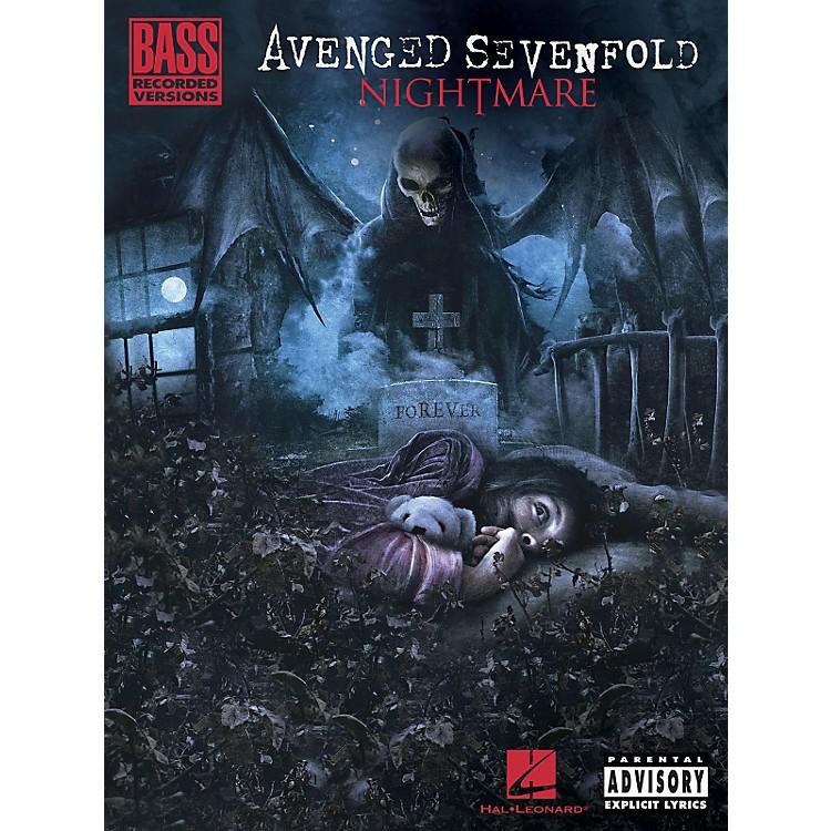 Hal LeonardAvenged Sevenfold - Nightmare Bass Tab Songbook