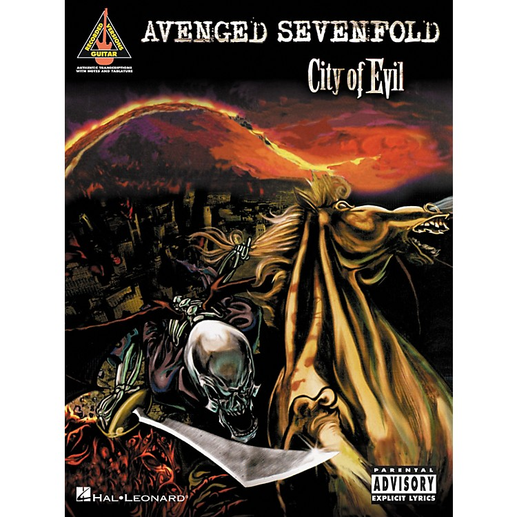 Hal LeonardAvenged Sevenfold City of Evil Guitar Tab Songbook
