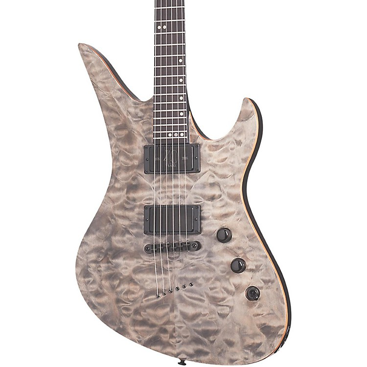 Schecter Guitar ResearchAvenger 40th Anniversary Electric GuitarSnow Leopard Pearl