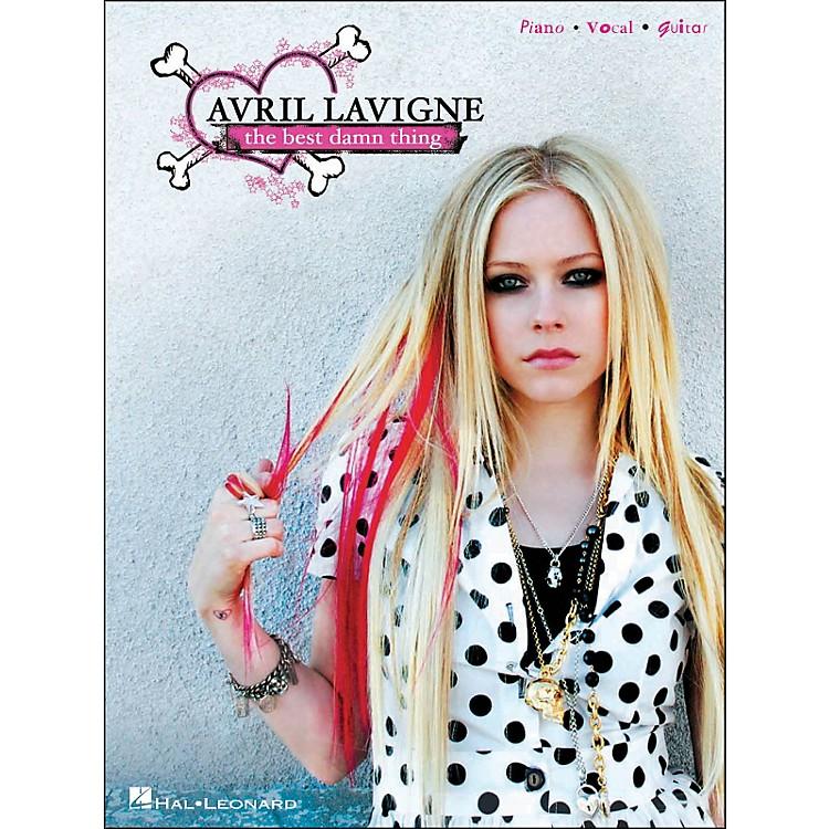 Hal LeonardAvril Lavigne The Best Damn Thing arranged for piano, vocal, and guitar (P/V/G)