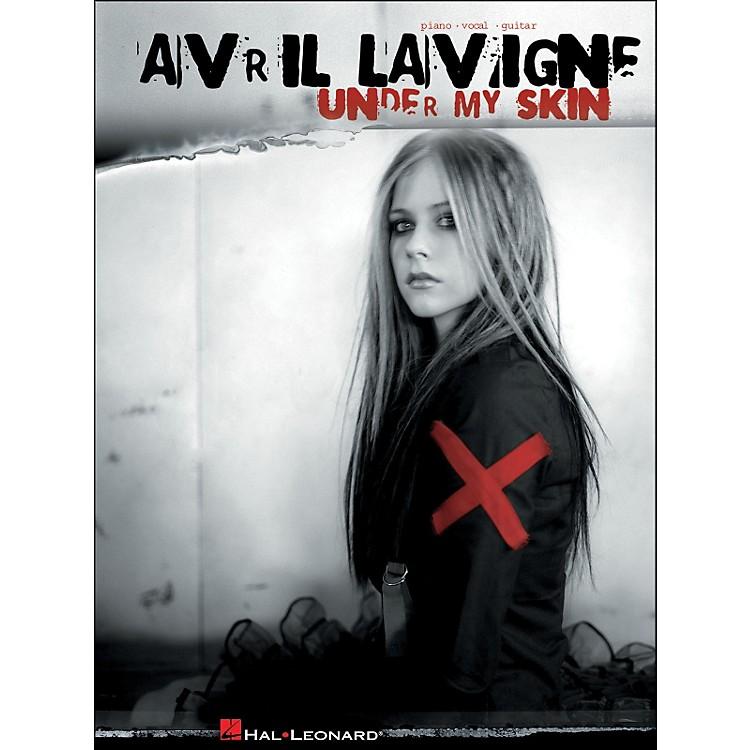 Hal LeonardAvril Lavigne Under My Skin arranged for piano, vocal, and guitar (P/V/G)