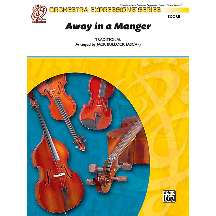 AlfredAway in a Manger String Orchestra Grade 0.5