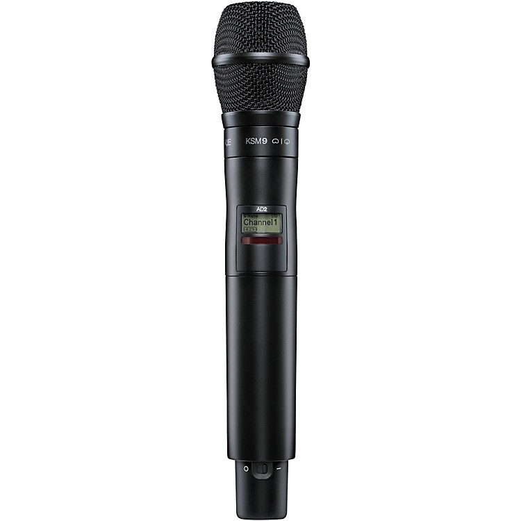 ShureAxient Digital AD2/K9B Handheld Wireless Transmitter with KSM9 MicrophoneBand 1Black