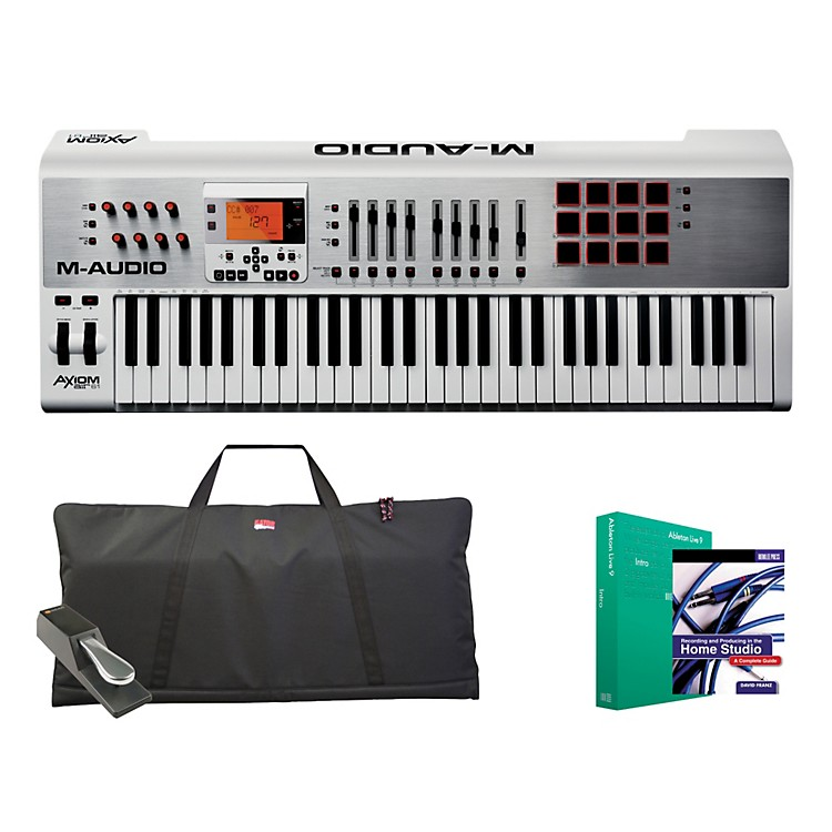 M-AudioAxiom AIR 61 Keyboard Controller Package 1