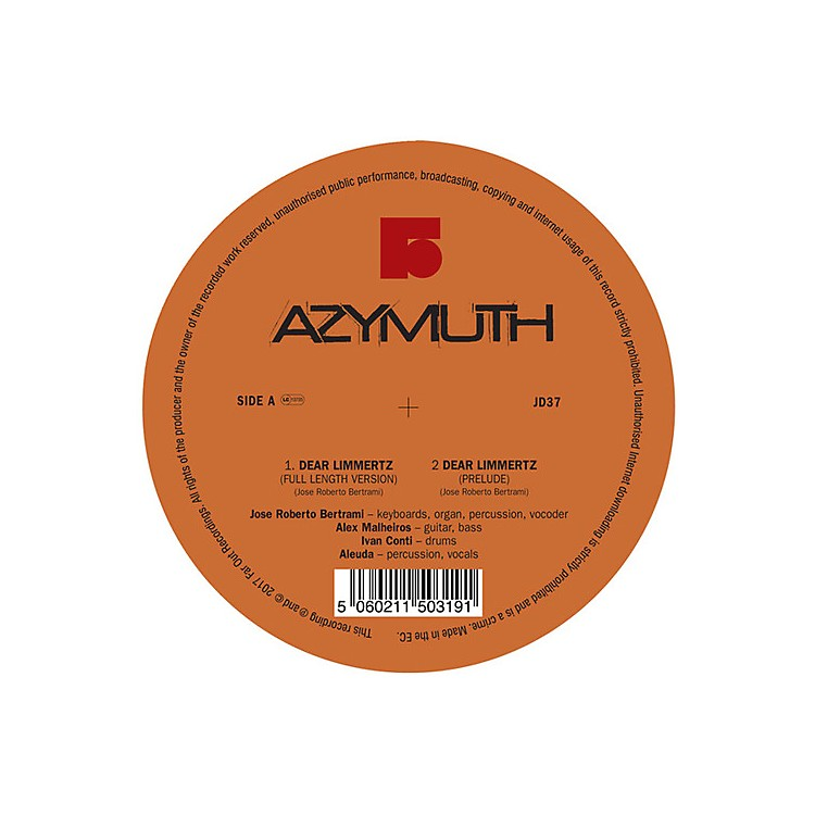 Alliance Azymuth - Dear Limmertz / Maracana