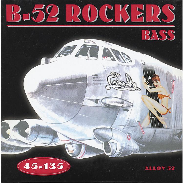 EverlyB-52 Rockers Alloy Medium 5-String Electric Bass Strings