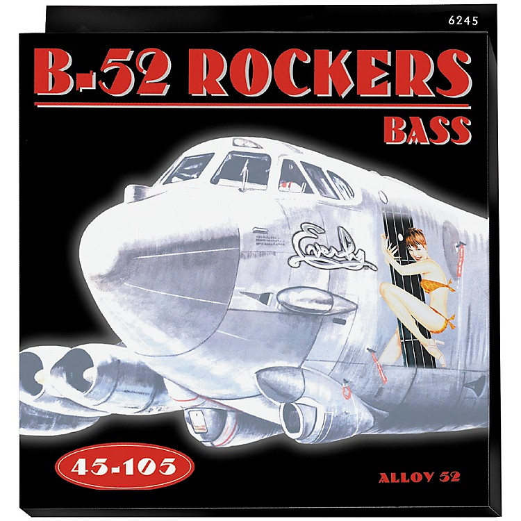 Everly B-52 Rockers Alloy Medium Electric Bass Strings