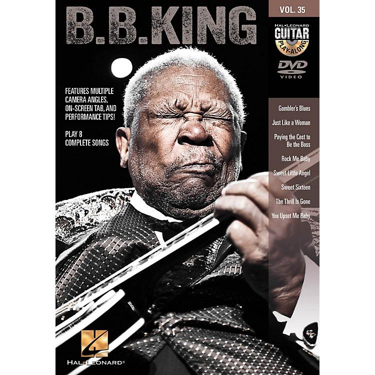 Hal LeonardB.B. King - Guitar Play-Along DVD Volume 35