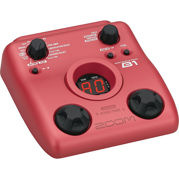 ZoomB1 Bass Multi-Effects Pedal
