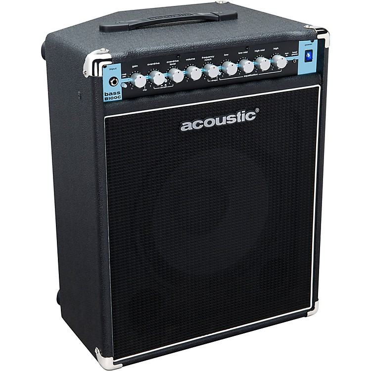AcousticB100C 1X12 100W Bass Combo with Tilt-Back CabBlack