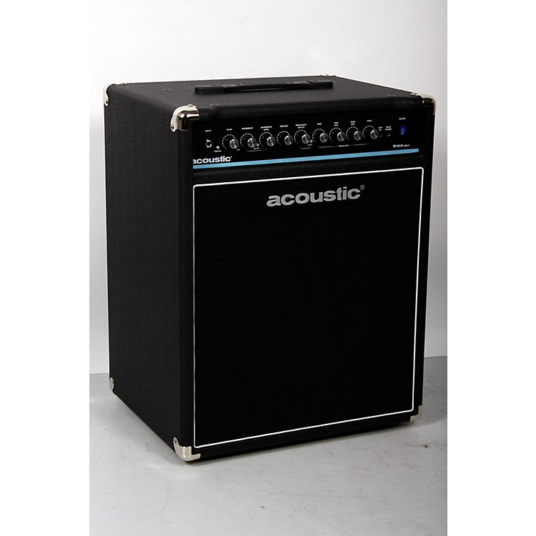 Acoustic B100mkII 100W Bass Combo Amp Black 888365892757