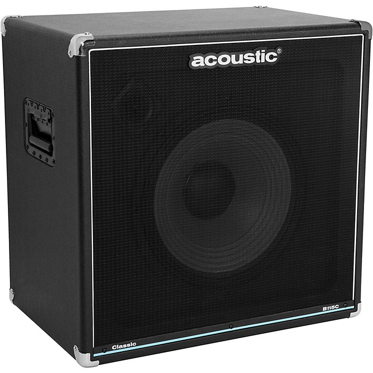 Acoustic B115C Classic 1X15 Bass Speaker Cabinet Black