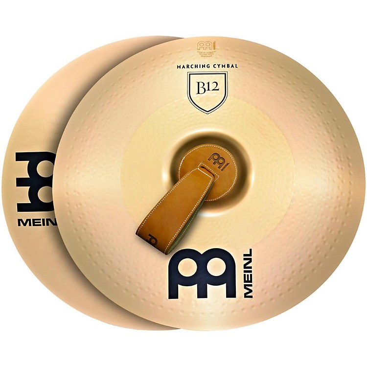 Meinl B12 Marching Medium Cymbal Pair 20 in.