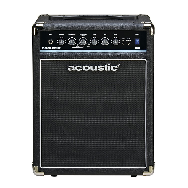 Acoustic B15 15W Bass Combo Amp Black