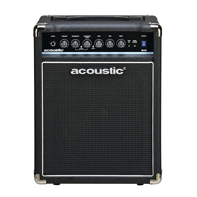 AcousticB15 15W Bass Combo AmpBlack