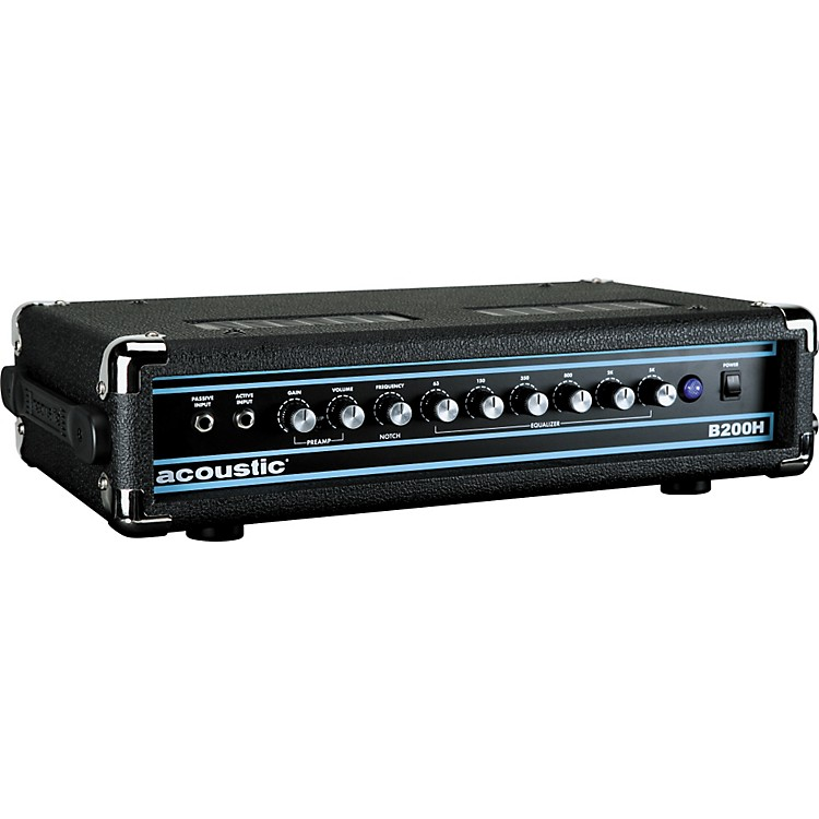 Acoustic B200H 200W Bass Head