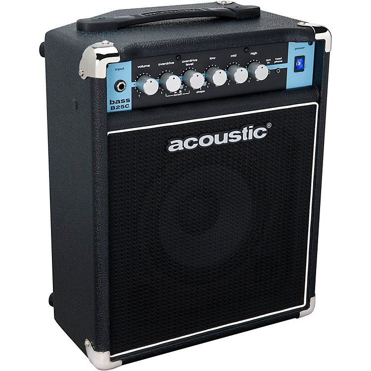 AcousticB25C 1X8 25W Bass Combo with Tilt-Back CabBlack