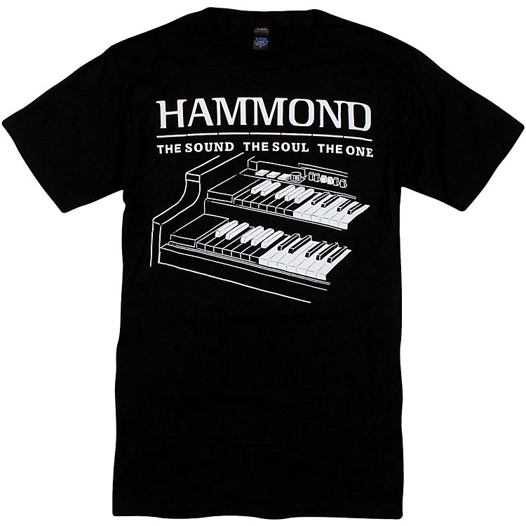 Hammond B3 T-Shirt XX Large Black