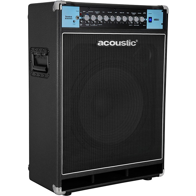 AcousticB300C 1X15 300W Bass Combo with Tilt-Back Cabinet