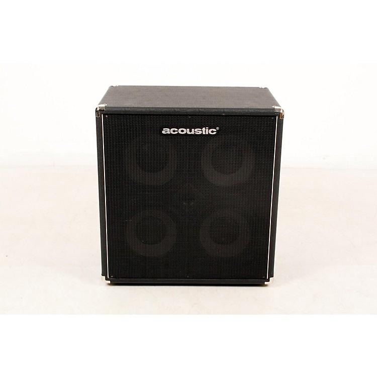 AcousticB410mkII 4x10 Bass Speaker CabBlack888365855059