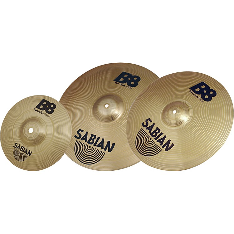 SabianB8 Crash Cymbal Pack