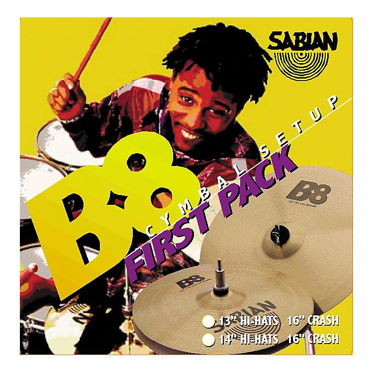 SabianB8 First Cymbal Pack