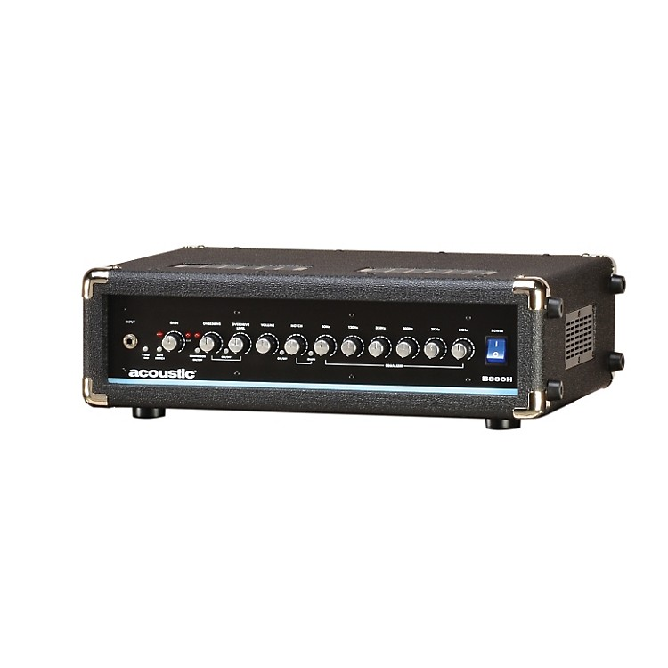Acoustic B800H 800W Bass Amp Head Black 888365895055