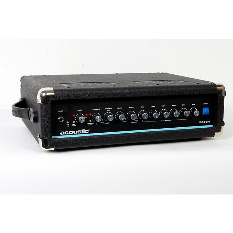AcousticB800H 800W Bass Amp HeadBlack888365798875