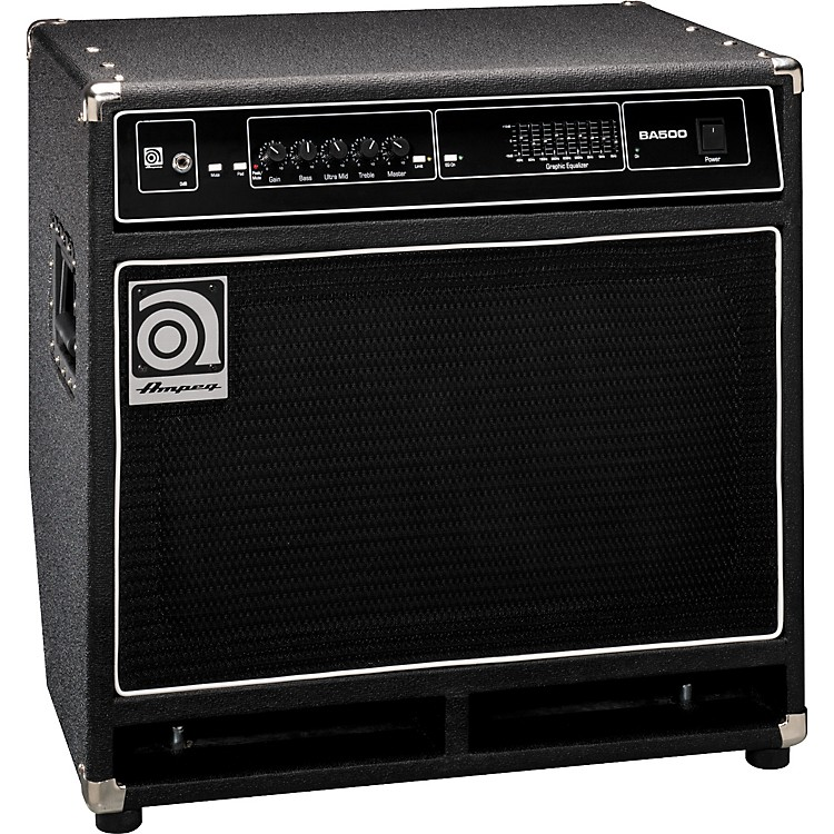 ampeg ba500 500 watt 2x10 bass combo amp music123. Black Bedroom Furniture Sets. Home Design Ideas