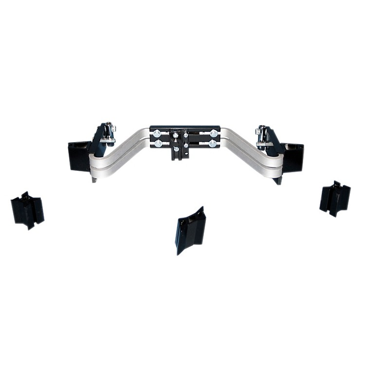 Premier BACK BAR RAIL FOR REVOLUTION MULTI-TENOR HARNESS Quads/Quints for 8, 10, 12, 14 and 10, 12, 13, 14 Inch