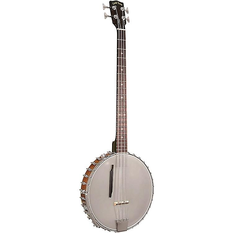 Gold ToneBB-400+ Left-Handed 4-String Banjo BassVintage Brown