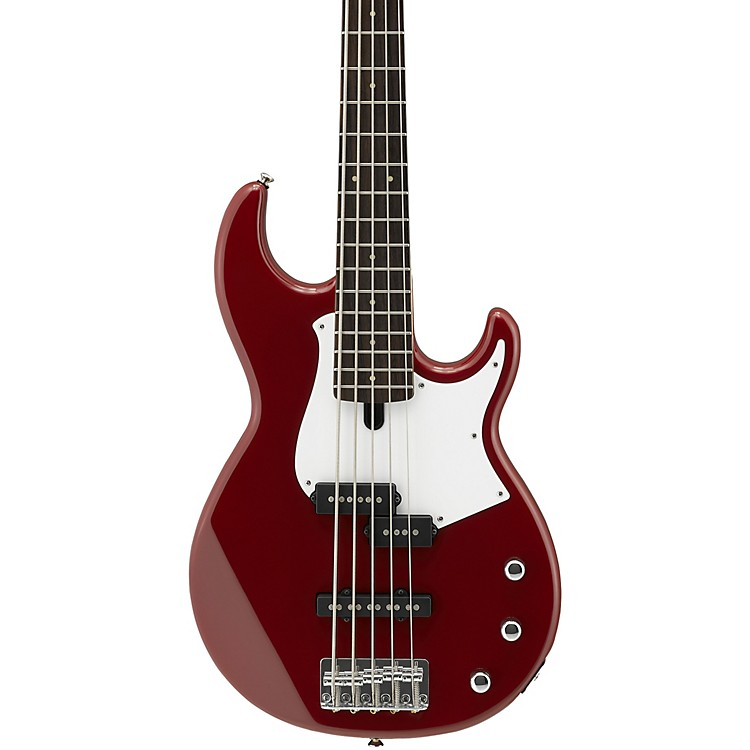 YamahaBB235 5-String Electric BassNatural SatinBlack Pearl Pickguard