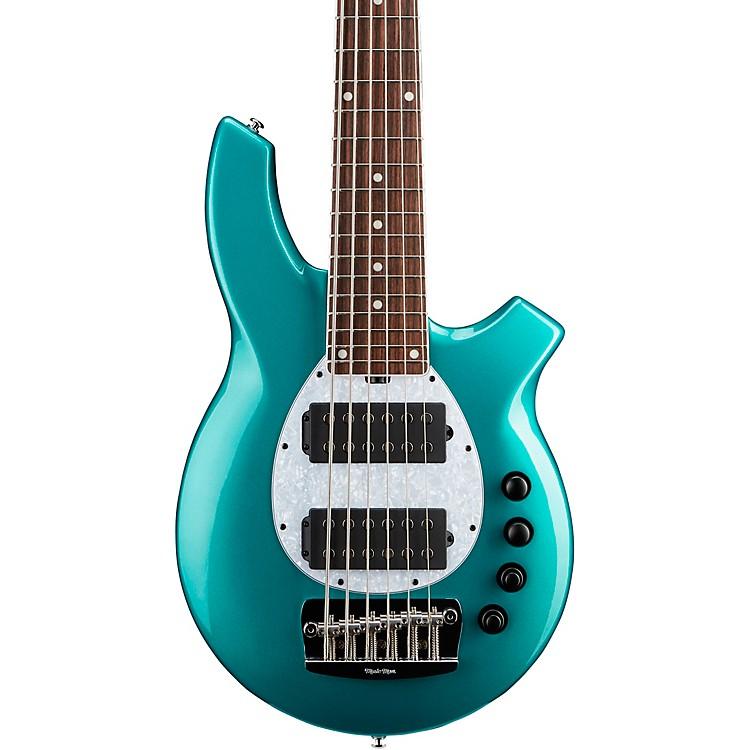 Ernie Ball Music ManBFR Bongo 6 HH 6-String Electric BassGrabber Green
