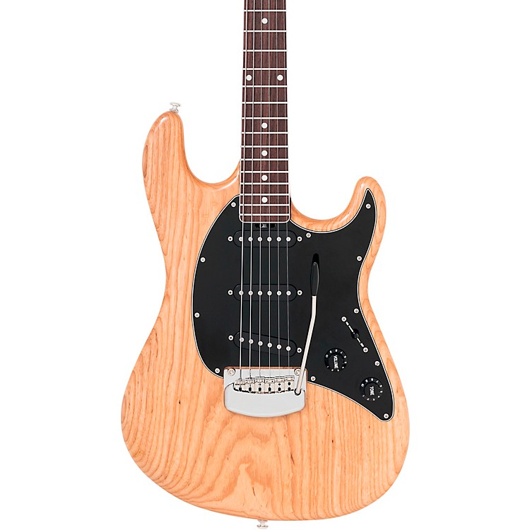 Ernie Ball Music Man BFR Cutlass with Rosewood Neck Electric Guitar Natural