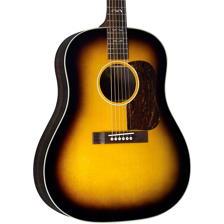 Blueridge BG-160 Contemporary Series Slope Shoulder Dreadnought Acoustic Guitar Vintage Sunburst