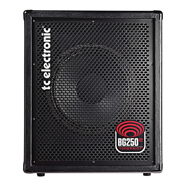 tc electronic bg250 112 250w 1x12 bass combo amp with 2 toneprint slots black music123. Black Bedroom Furniture Sets. Home Design Ideas