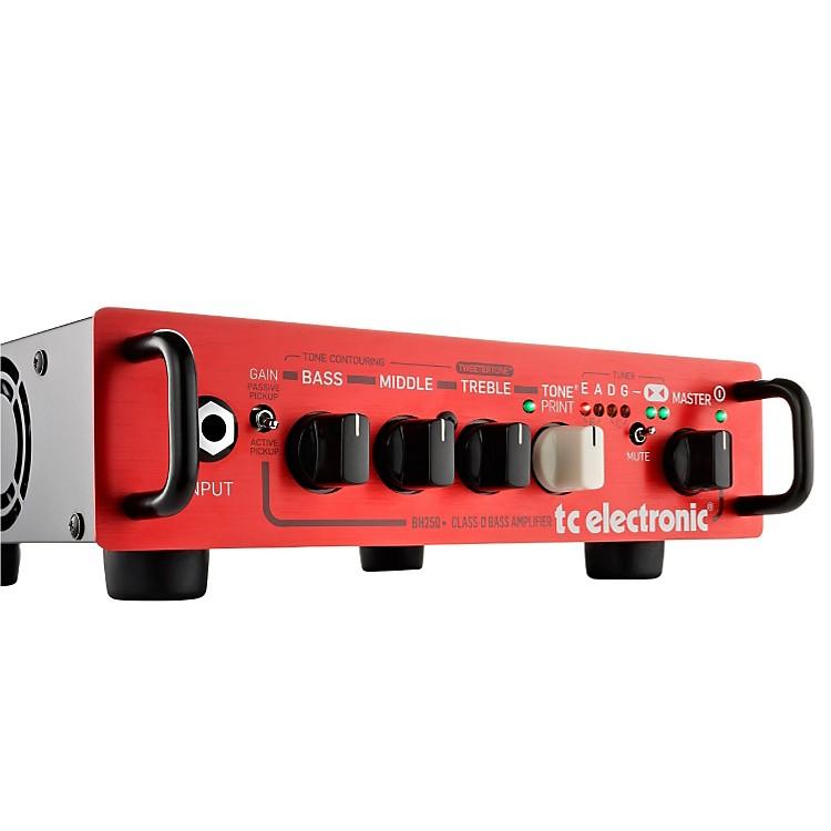 TC ElectronicBH250 250W Bass Amp HeadBlack