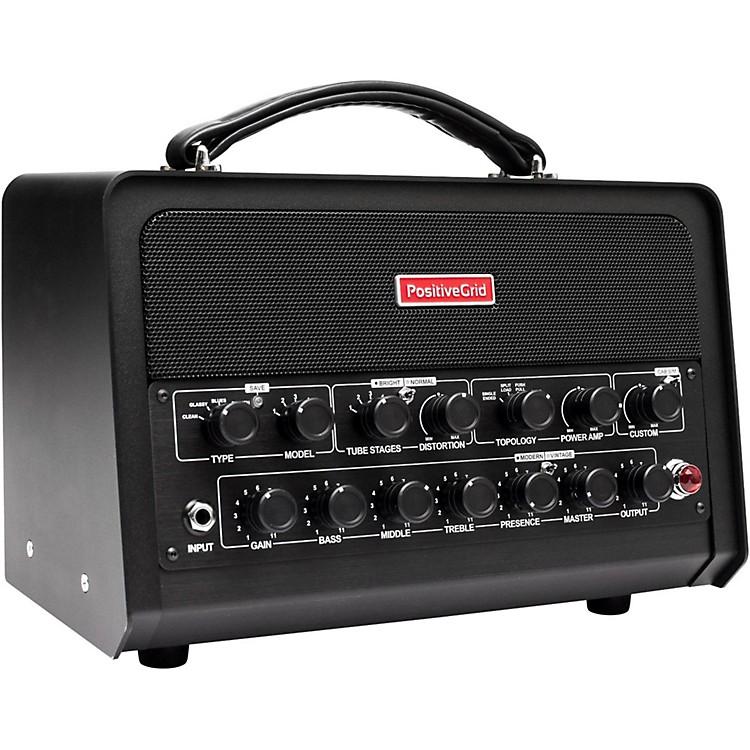 positive grid bias processor head amp match guitar and bass amplifier head black music123. Black Bedroom Furniture Sets. Home Design Ideas