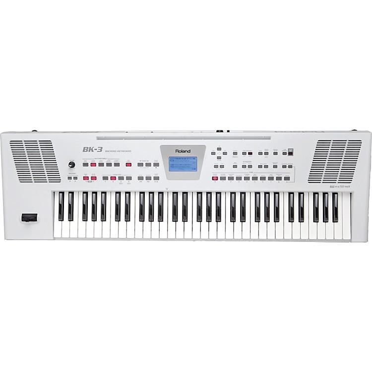 RolandBK-3 Backing KeyboardWhite