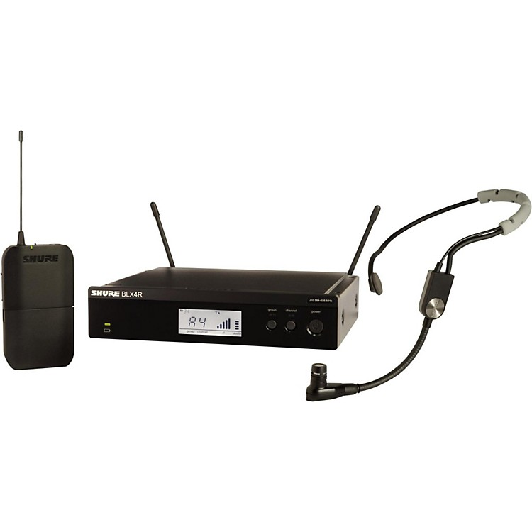 ShureBLX14R Headset System with SM35 Headset microphoneBand H10
